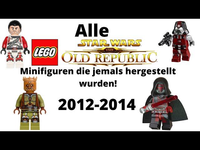 Alle LEGO Star Wars The Old Republic Minifiguren die jemals hergestellt wurden!/deutsch
