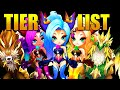 ULTIMATE 2A TIER LIST IN SUMMONERS WAR