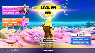 Unlock LEVEL 225 FAST - Season 5 Guide! (Fortnite XP Glitch, Level Up Fast Methods, & Free Rewards)!
