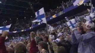 Pasi Nurmisen kommentit Suomi-Ruotsi 4-5 Kotikisat 2003
