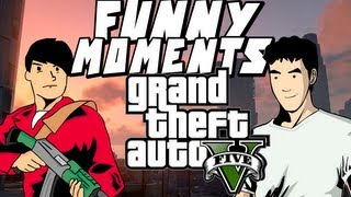 GTA 5 ONLINE - EPIC FUNNY MOMENTS: