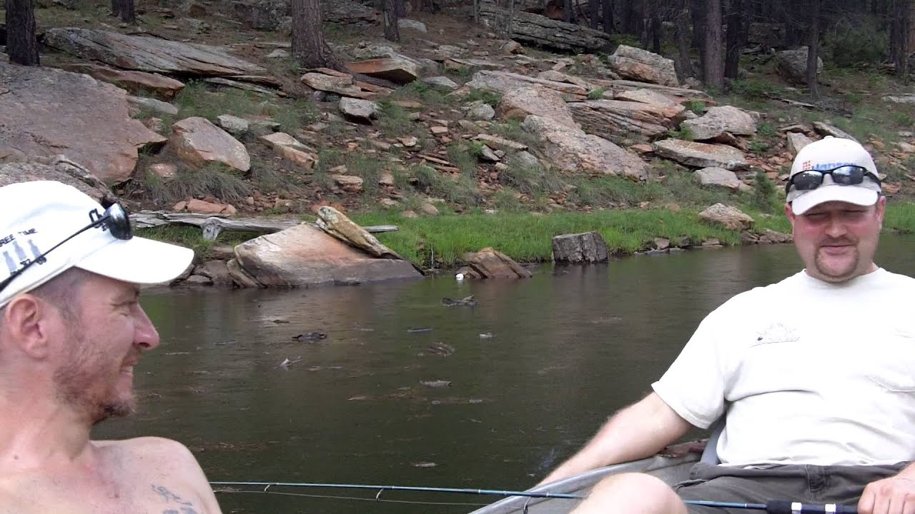 Fishing at woods canyon lake arizona youtube for Woods canyon lake fishing