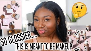 TRYING OUT GLOSSIER & CAN'T BELIVE THIS IS MAKEUP!!