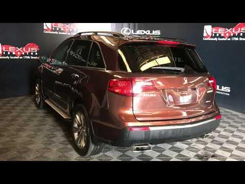Copper 2011 Acura MDX Elite Pkg Review Edmonton Alberta - Lexus of Edmonton