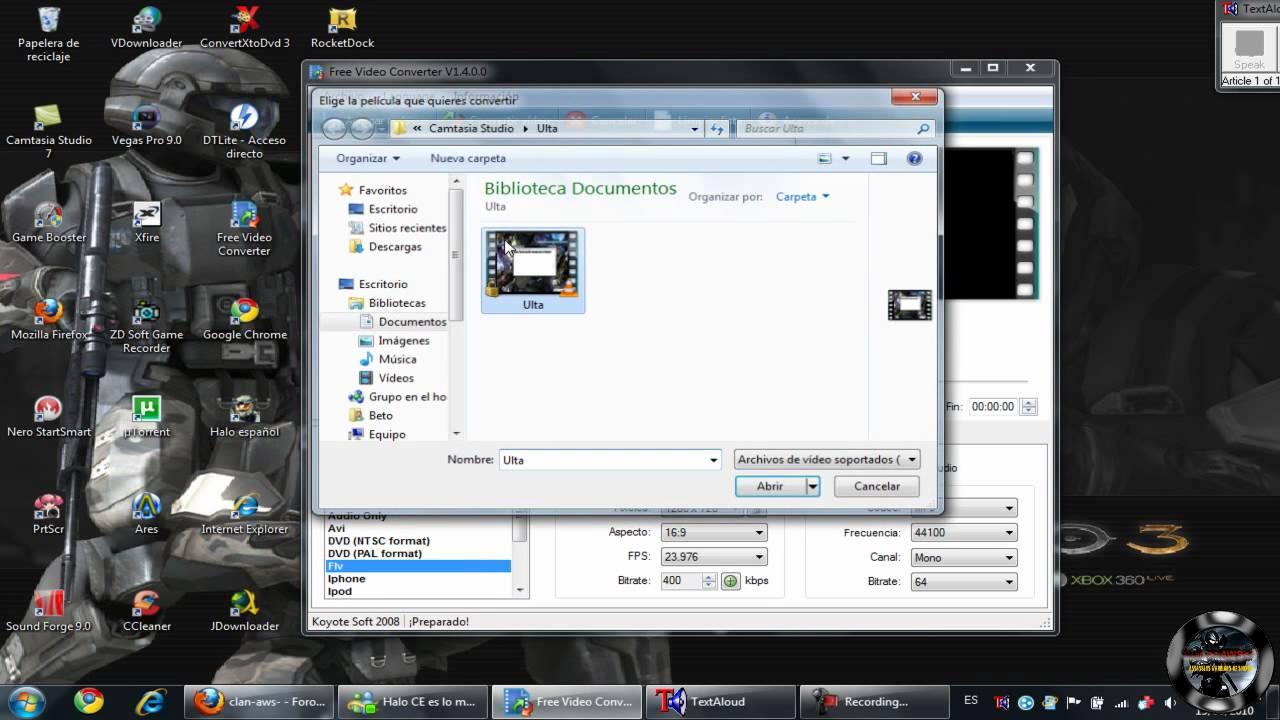 como usar free video to dvd converter