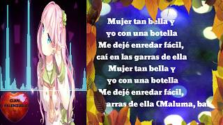 Bella (Remix) - Wolfine Y Maluma (Letra) VideoLyric Oficial 🐻
