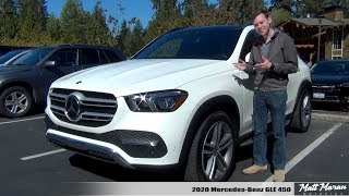 Review: 2020 Mercedes-Benz GLE 450 - It Leans INTO Corners!