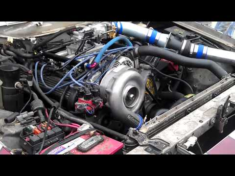 Grand Marquis 1st Start With Procharger
