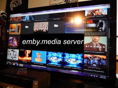emby media server*installation test*