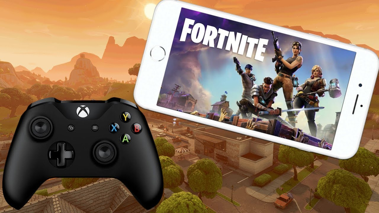 How To Play Fortnite Mobile Royale With Controller Youtube