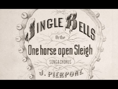 JINGLE BELLS Original 1857 Lyrics & Chorus Tom Roush