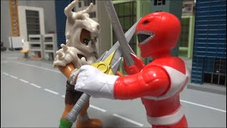 파워레인저 마이티몰핀, 레드 검의 대결 Power Rangers Mighty Morphine, Red Sword confrontation