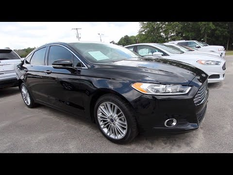 A Well Made American Sedan | The 2016 Ford Fusion SE - Review & For Sale @ Ravenel Ford