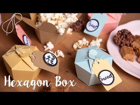Sizzix Lifestyle - How to Create Hexagon Treat Box