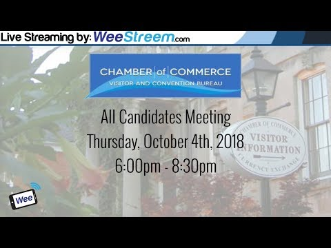 Niagara on the Lake All-Candidates Meeting - Hosted by the NOTL Chamber of Commerce