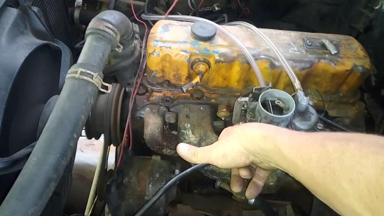 S10 com motor de opala 4 cc e carburador de fusca...ficou ótima!