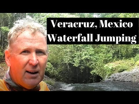 Veracruz, Mexico Waterfall Jumping