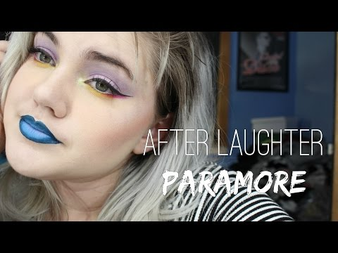 Paramore After Laughter Album Cover Inspired Makeup Tutorial