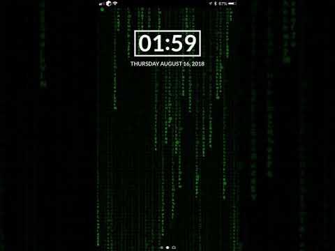 Matrix Live Wallpaper | repo packix com
