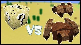 Песчаный Лаки Блок VS Жуки Горгомиты 50 Лаки Битва 4