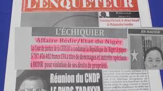 Revue Presse Labari Zarma 10 Juillet