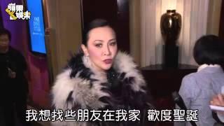 向太戴3.2億巨鑽挺壹基金   劉嘉玲賣腿不賣胸--蘋果日報 20141218