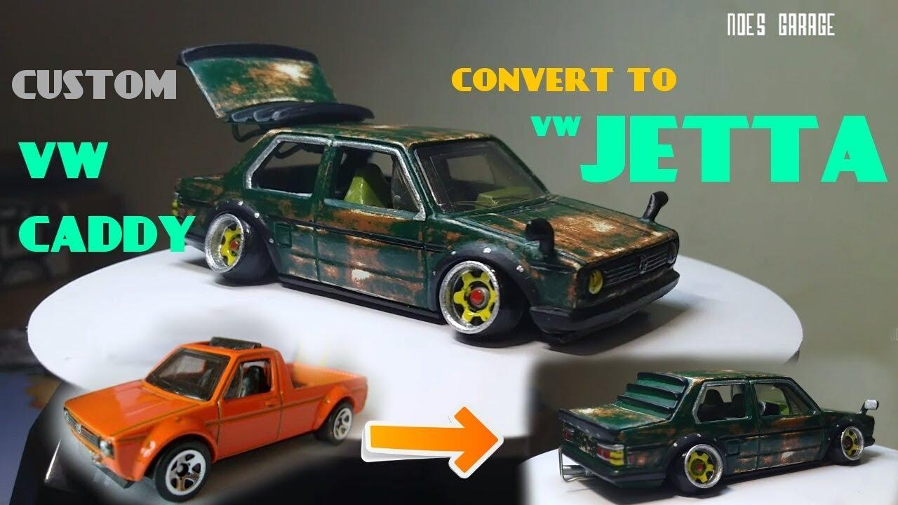 VW Jetta 2018 >> Custom hot wheels vw caddy ( vw caddy convert to vw jetta ...