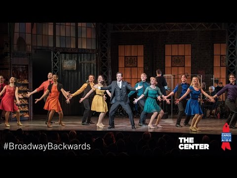 Cynthia Erivo, Josh Groban, Andrew Rannells - Broadway Backwards Highlights 2017