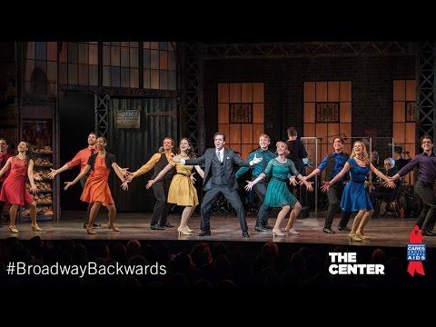 Cynthia Erivo, Josh Groban, Andrew Rannells - Broadway Backwards Highlights 2017