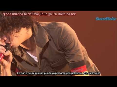 ONE OK ROCK - KAGEROU (カゲロウ) Sub español Zankyo Reference Tour HD