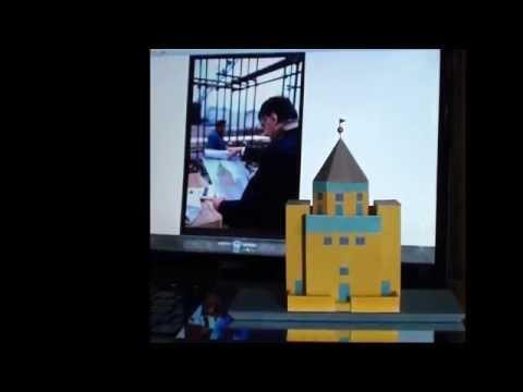 Aldo Rossi - TEATRO DEL MONDO scale model 1:200