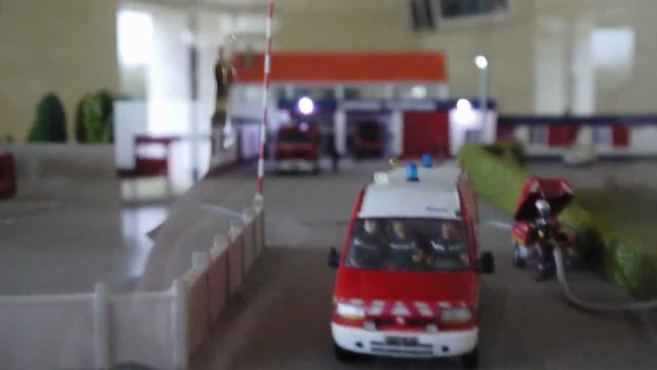 pompiers tourlaville video de la reproduction du centre. Black Bedroom Furniture Sets. Home Design Ideas