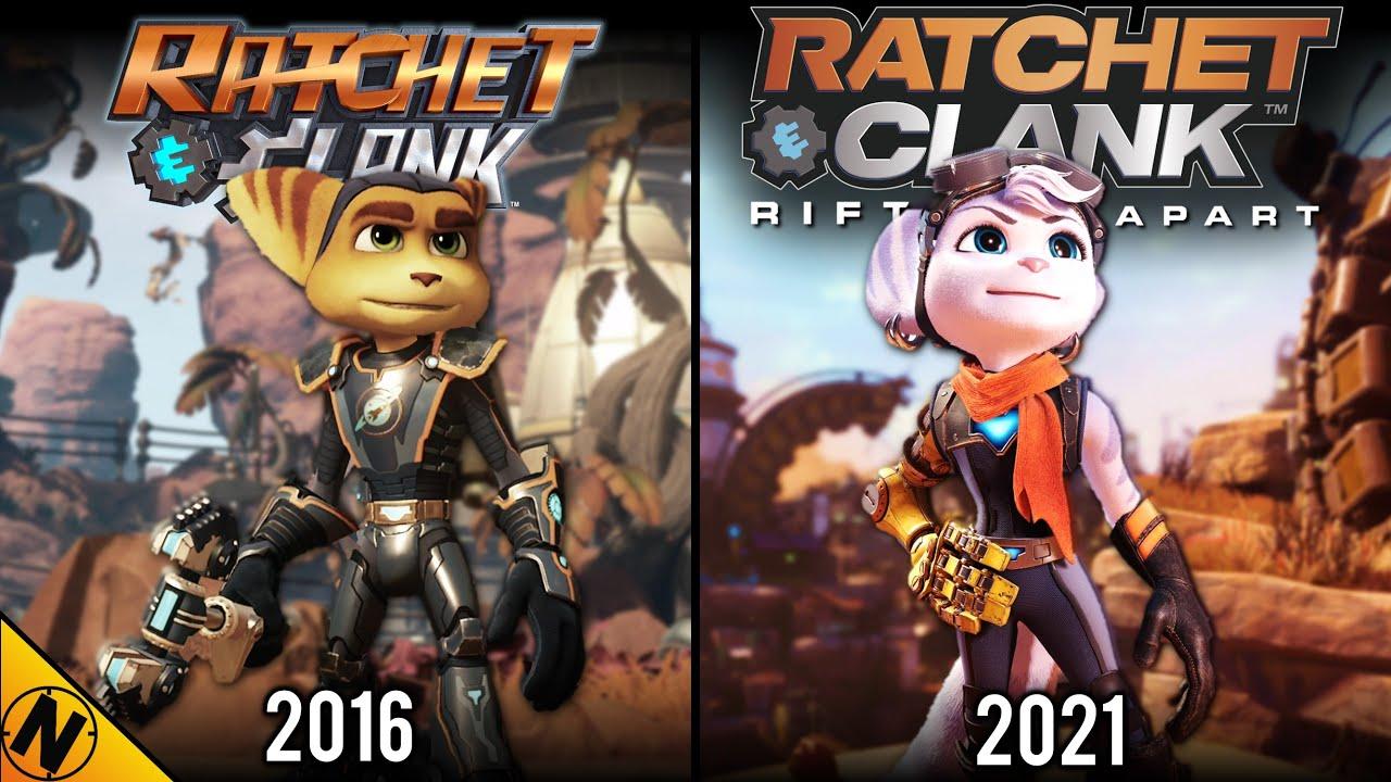 Ratchet & Clank: Rift Apart vs Ratchet and Clank (Remake) | Direct Comparison