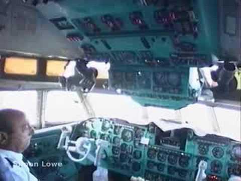 """Cubana IIyushin IL-62M    """"Bermuda!!"""""""