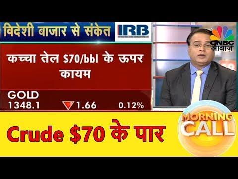 Crude $70 के पार | आज आएगा आर्थिक Survey | Morning Call | CNBC Awaaz