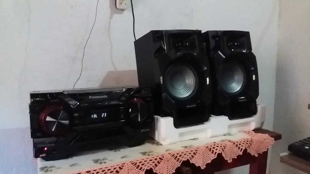 Som Panasonic Akx 220 450w Tocando