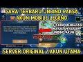 - Cara Unbind Paksa Akun Facebook dan Google Play Mobile Legend 2020