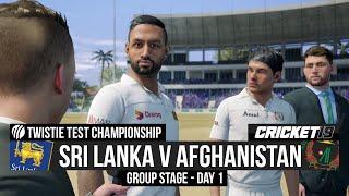 Test Championship - Sri Lanka v Afghanistan - Day 1 Highlights - Cricket 19