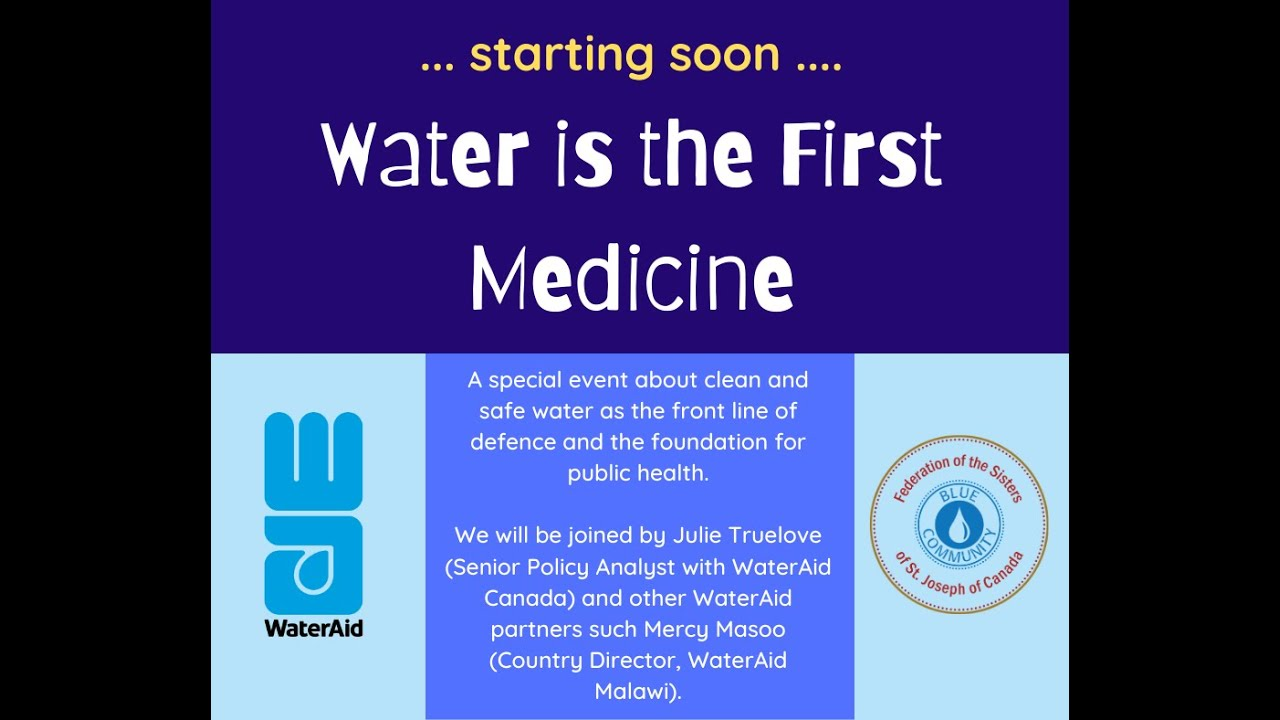 Water is the First Medicine: a conversation with WaterAid