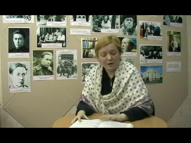 Изображение предпросмотра прочтения – «Библиотека имени А.И. Солженицына» читают произведение «Крохотки: Утенок» А.И.Солженицына