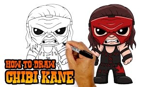 How to Draw Kane | WWE