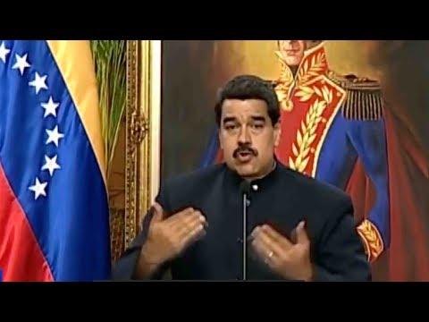 Venezuela President Maduro speaks to CGTN