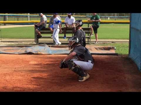 Receiving curveballs at Indian River State College Showcase