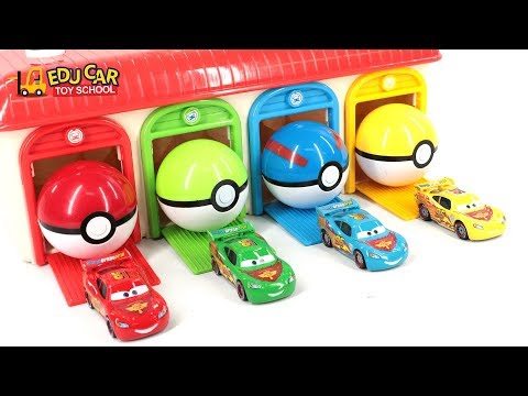 Thumbnail: Learning Color Special Disney Pixar Cars Lightning McQueen Mack Truck Sand Play for kids car toys