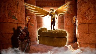 Ägyptische SARKOPHAGE Für Die Experten KEINE Erklärung finden