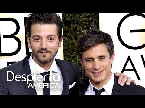 Gael García y Diego Luna representaron a México en los Golden Globes
