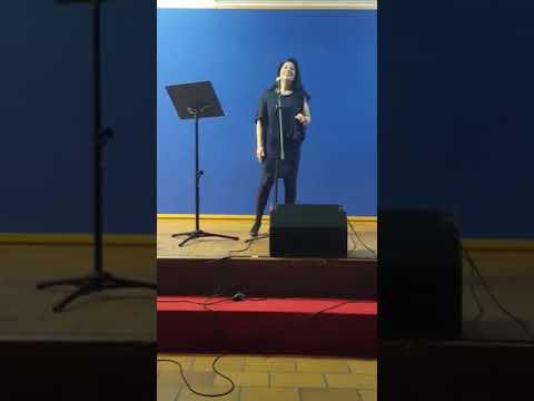 Audición alumnos canto Escuela de Música Cadalso de los Vidrios. Febrero 2018.