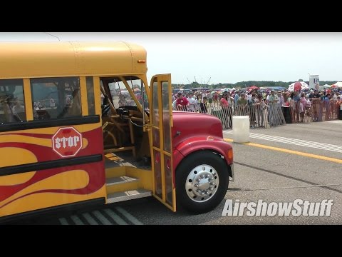 Behind the Scenes: Jet-Powered School Bus