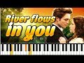River Flows In You на пианино mp3
