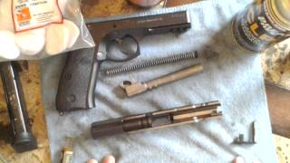 CZ75 SP-01 field strip and CLEANING HOW-TO